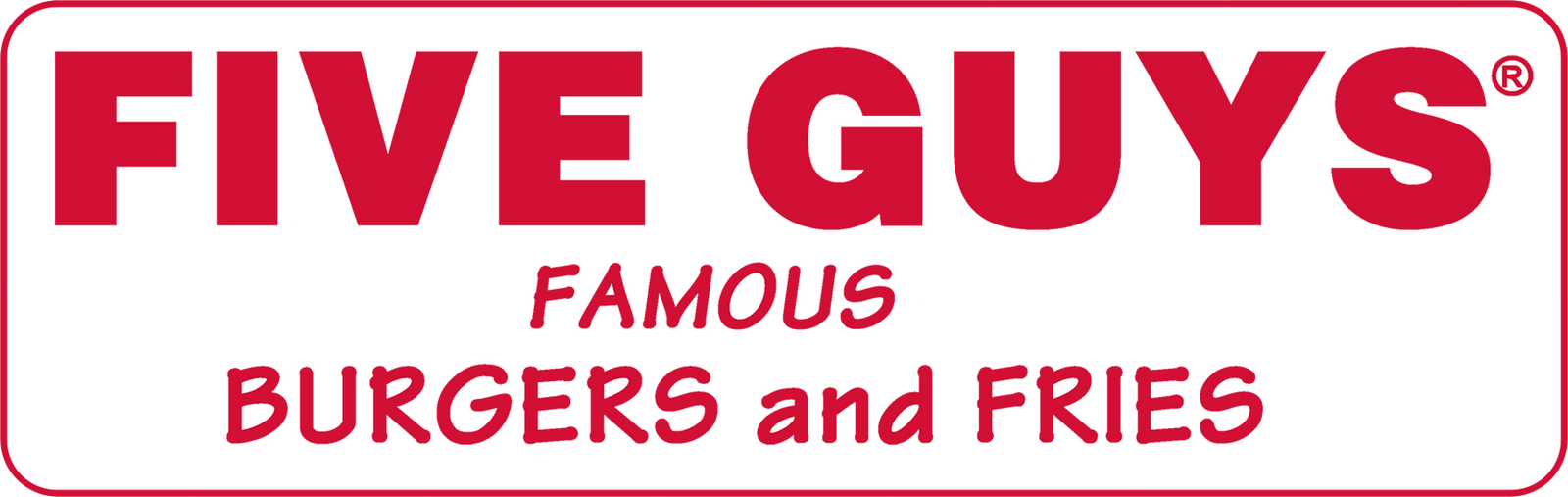 The Watery Gourmet: REVIEW: Five Guys Burger and Fries- ***1/2 / $