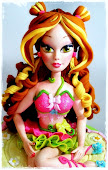 Winx Club Cake with Flora