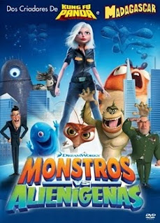 Monstros.vs.Aliens Download Monstros vs Alienígenas   DVDRip AVI + RMVB Dublado