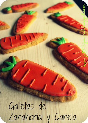 galletas decoradas zanahoria