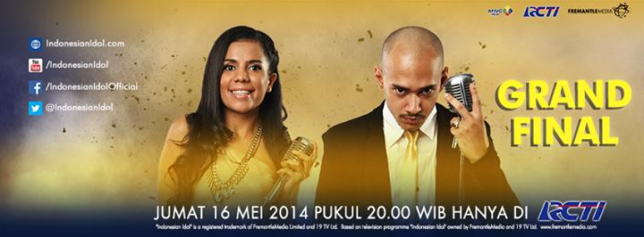 Pengumuman Grand Finalis Indonesian Idol 2014