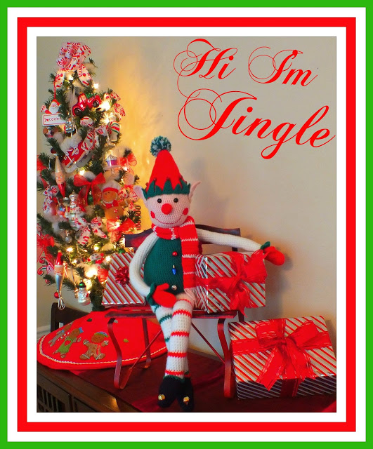 Jingle the Christmas Elf Crochet Doll Pattern© By Connie Hughes Designs©