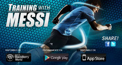 Training with Messi es el nuevo videojuego de fútbol de Lionel Messi hecho por Rock N' Roll Games