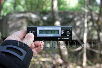 Измерение радиации около 039-го ДОТ-а