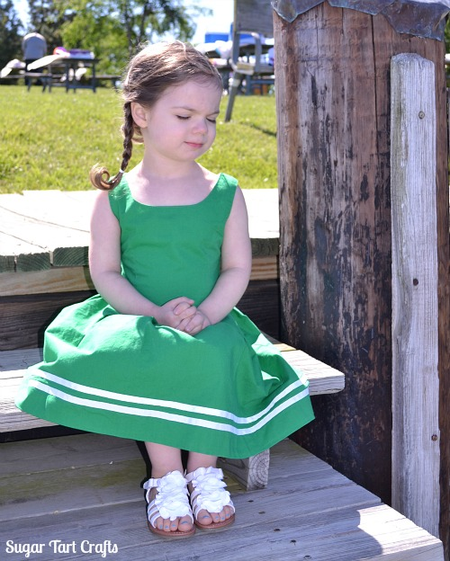 Coastal Bliss Dress - Nautical inspired girls dress knockoff