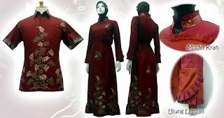model gamis batik 2013