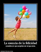 Mi felicidad no depende de ti