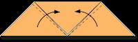 Cara Membuat Origami Wajah Serigala