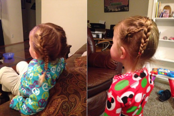 single dad daughters ponytail  beauty school-1
