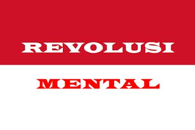 Maksud/ Pengertian Gerakan Revolusi Mental