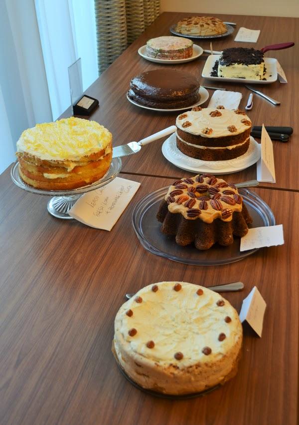clandestine cake club - baking like delia