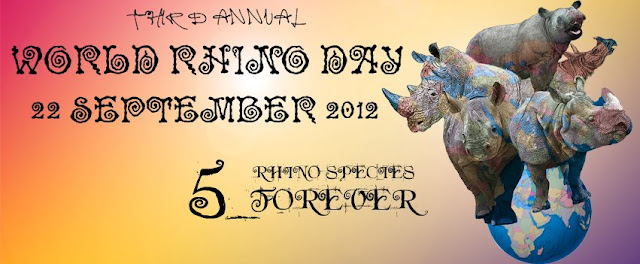 Zombie Logic Press supports World Rhino Day 2012