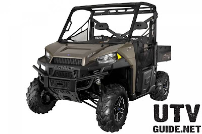 2013 Polaris RANGER XP 900 Bronze Mist LE