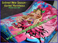 Selimut New Season - Barbie Mariphosa