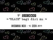 1st GIVEAWAY : 'BLACK' BAGI DIRI MU?