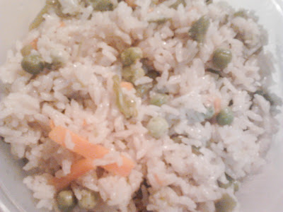White Vegetable Pulao