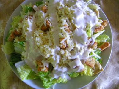 Strictement v g tarien salade c sar avec tofu - Cuisiner le tofu nature ...