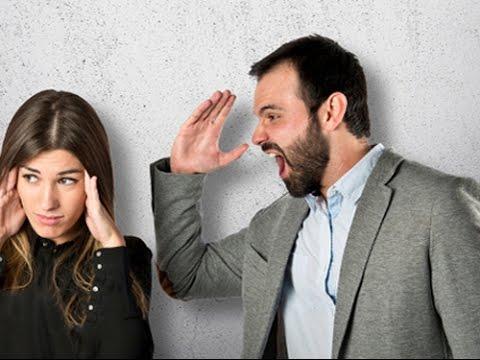 كيف أتعامل مع زوجي العصبي سريع الغضب,رجل غاضب يصرخ على فى امرأة عصبى