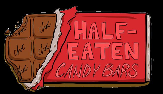 Half-Eaten Candy Bars