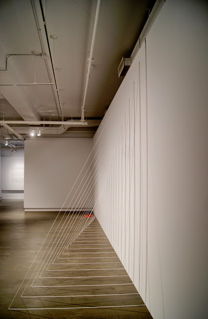 Kristiina Lahde: Ultra-Parallel Exhibit at Koffler Art Gallery in Toronto, exhibition, artmatters, Youngplace, Culture, measurment, yardsticks, tape, math, numbers, the purple scarf, melanieps, ontario, canada, lines
