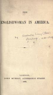 The Englishwoman in America