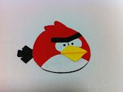 I decided to try to do an angry bird bookmark for keepstake :) I went to .