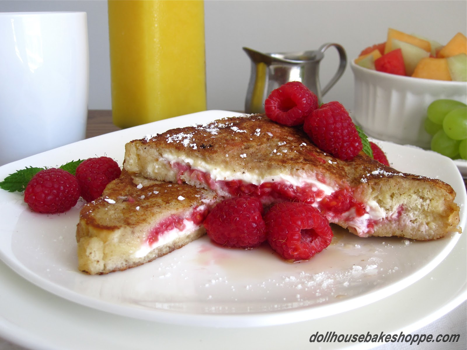 Lindsay Ann Bakes: Raspberry Cheesecake Stuffed French Toast