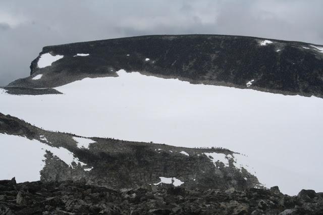 Ascension al Galdhopiggen