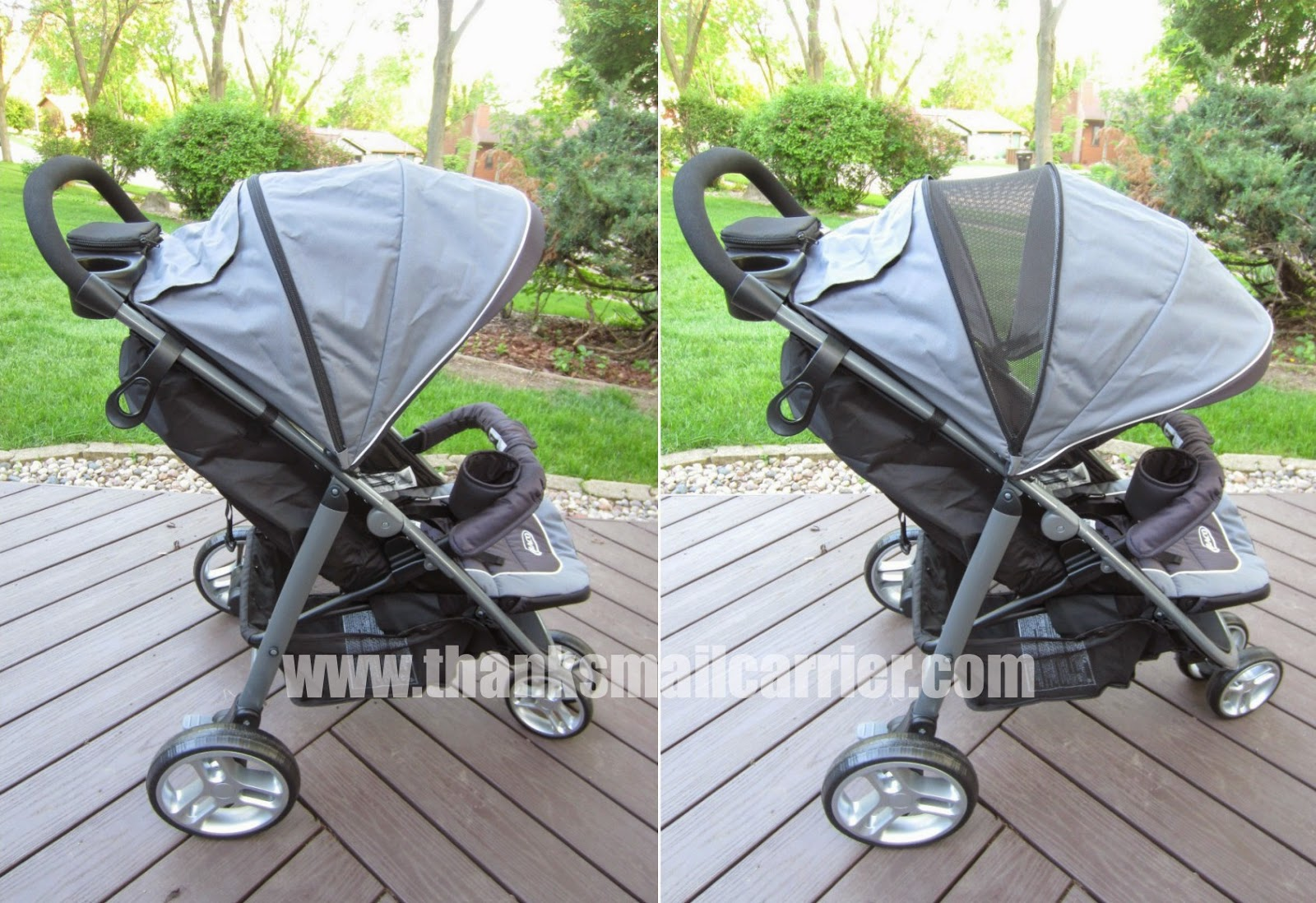Graco stroller extended canopy