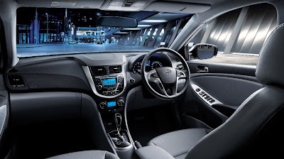 hyundai grand avega interior
