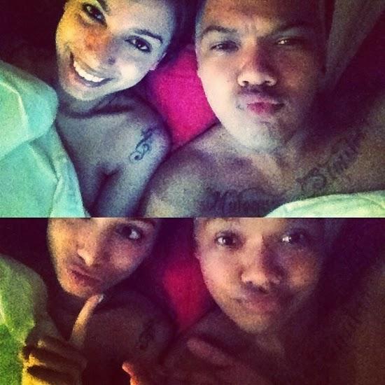 Anitta na cama com amigo Marinho instagram