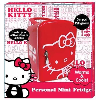 prikaz malog frižidera hello kitty