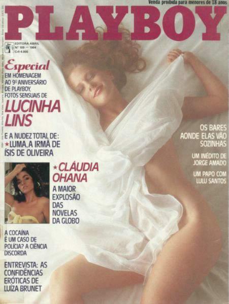 Lucinha Lins - Fotos Playboy 1984