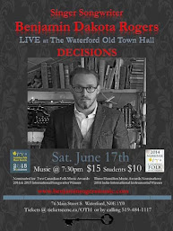Benjamin Dakota Rogers @ Waterford Old Town Hall