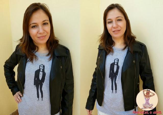 Jaqueta e t-shirt Choies