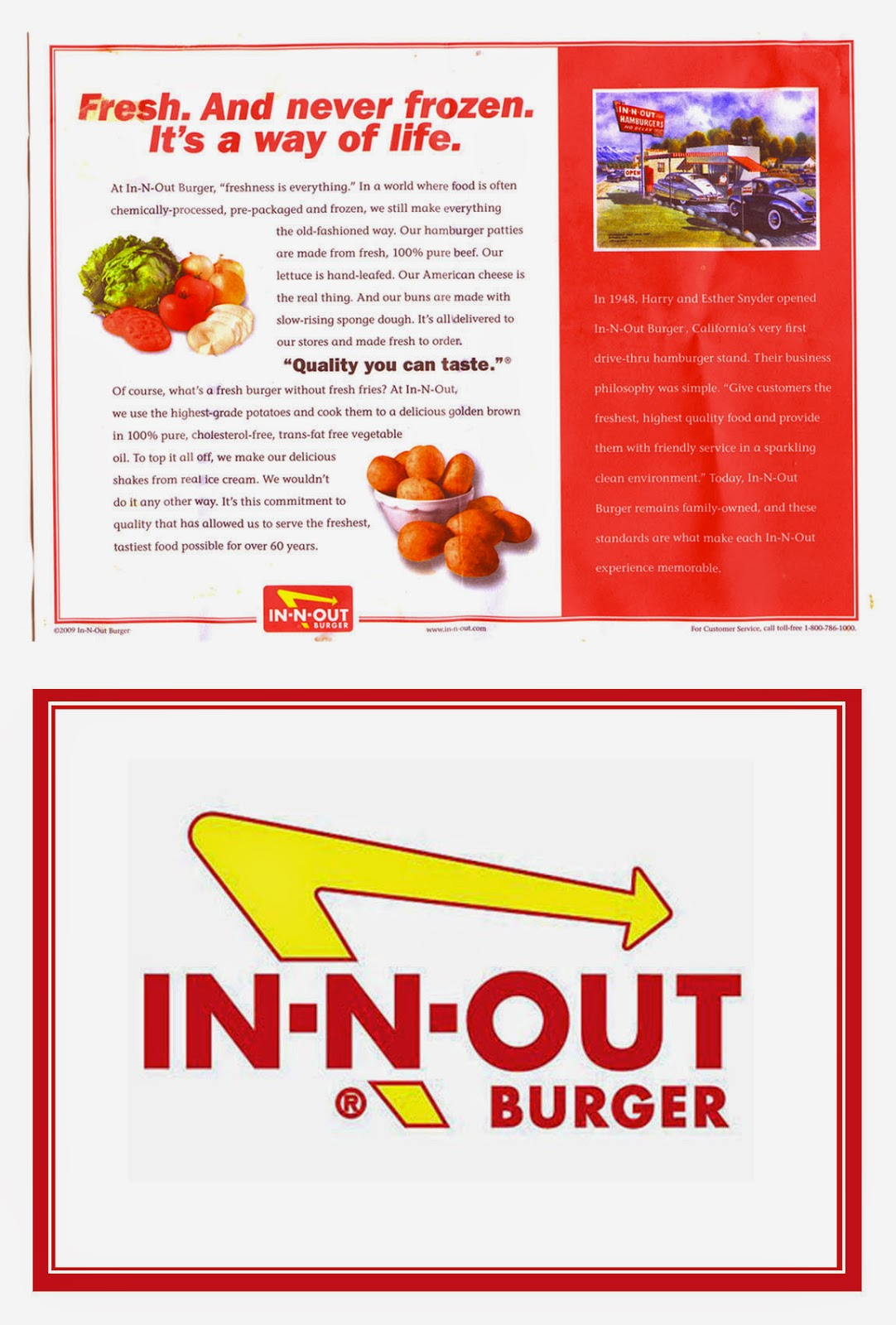 Toni Ellison: In N Out in Miniature - Double Double, Cheeseburger ...