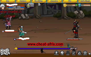 PANEL Cheat-Afrix ATM Exp TP PET Hunting House Ninja Saga Terbaru