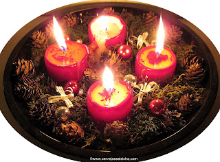 Adventskranz: Coroa ou guirlanda do Advento