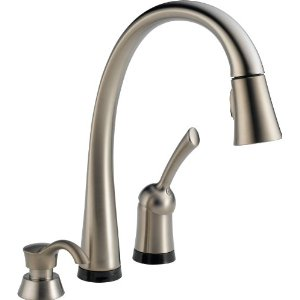 Delta pilar kitchen faucet 980t sssd dst stainless