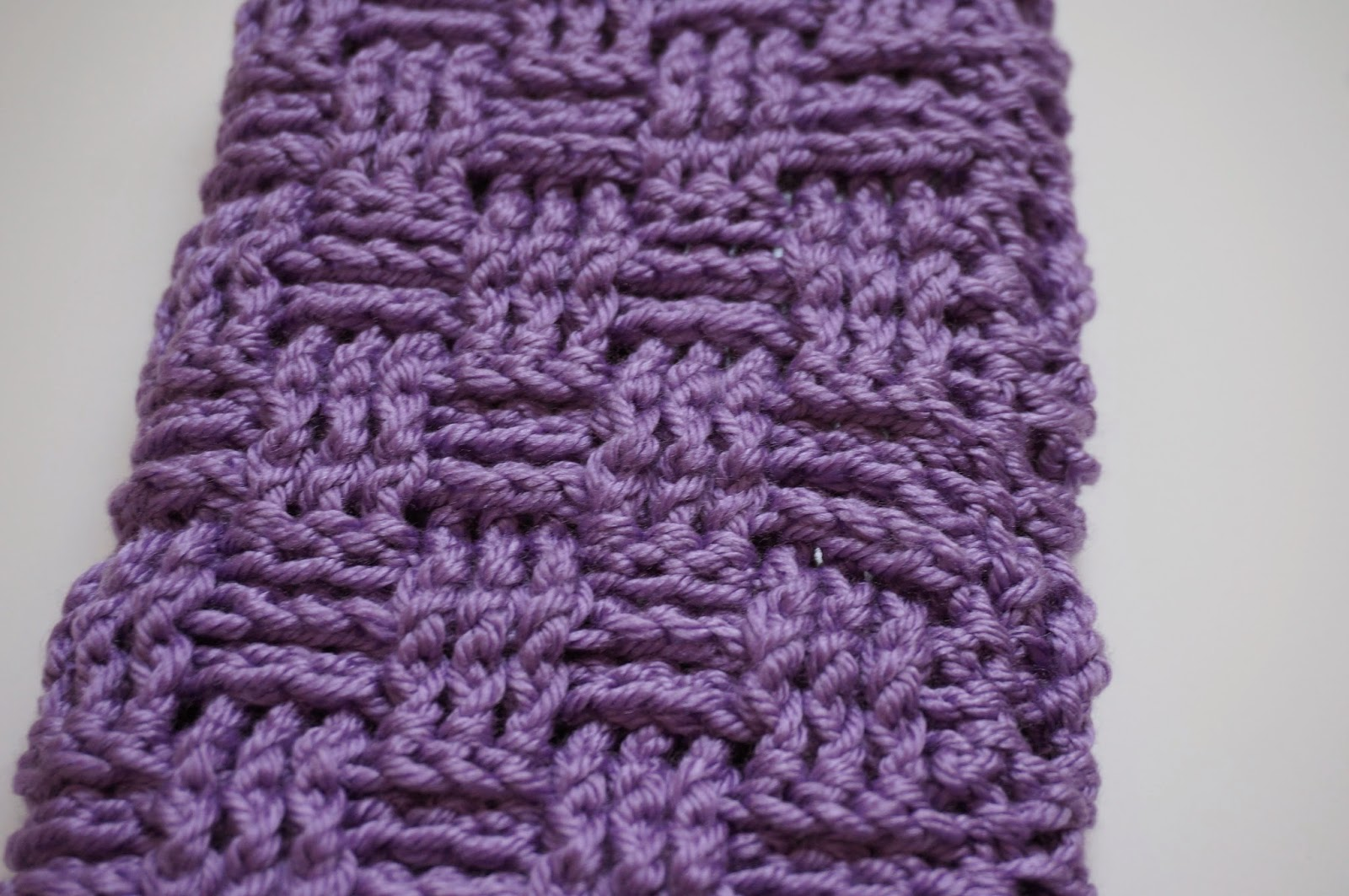 How Long Does It Take To Weave A Basket : Basket weave crochet stitch