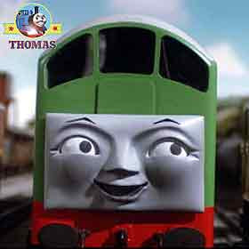 Wood toy Thomas and friends BoCo the diesel engine locomotive British Rail Transport in the company