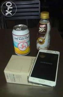 Handphone Samsung Galaxy Grand Prime Fulset