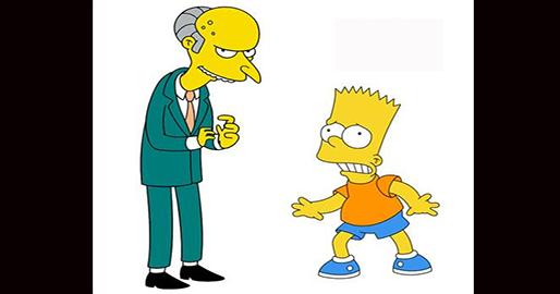 Existen juez burns conden a bart simpson en inglaterra - Bart simpson nu ...