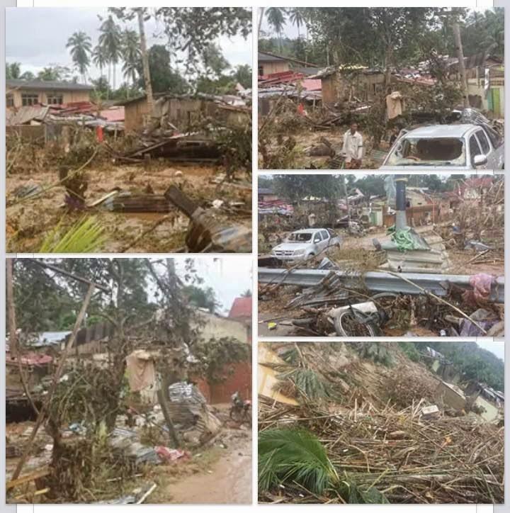 Gambar Kuala Krai Selepas Banjir Macam Dilanda Tsunami