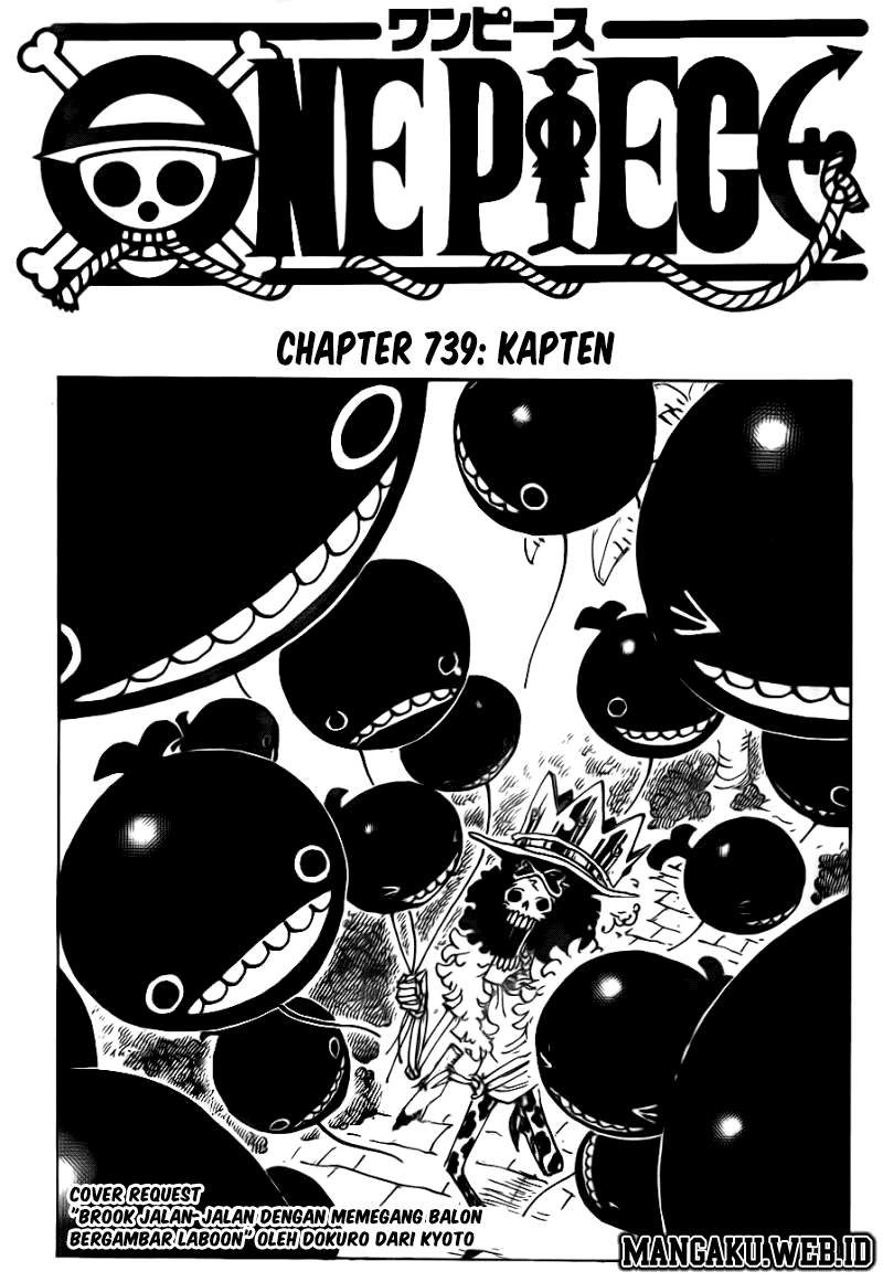 Download Komik One Piece Chapter 739 (Kapten) Bahasa Indonesia