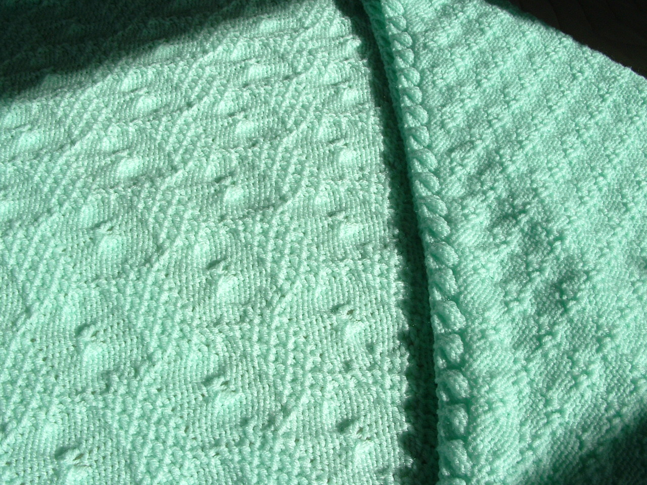 Knitting Blankets For Charity : Knitting your way tuck stitch charity baby blankets