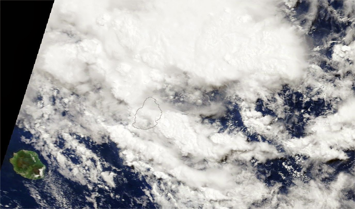 Image sat météo réunion, Maurice, Madagascar
