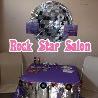 Rock Star Party Salon