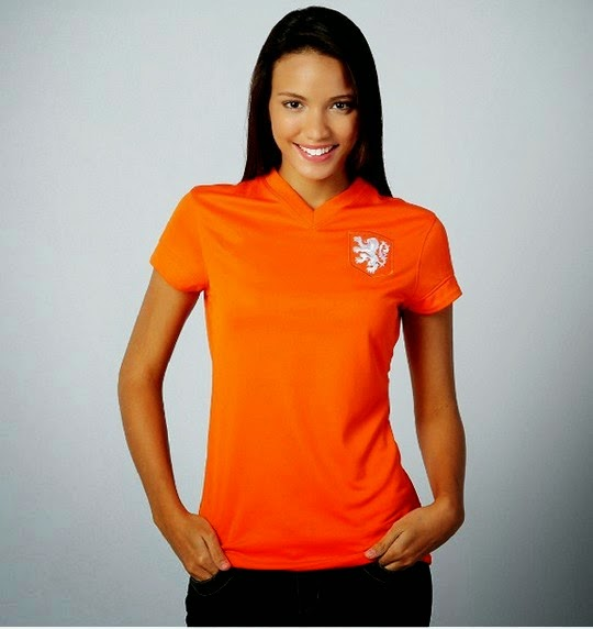 Ladies Shirts for FIFA Brazil World Cup 2014