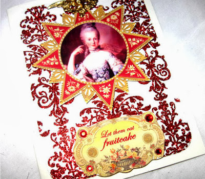 Holiday Marie Antoinette Cards